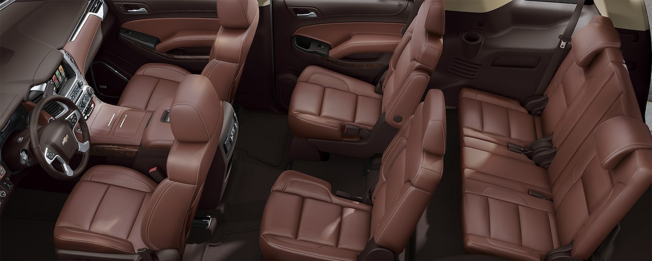 Chevrolet Suv Lineup Interior Seating