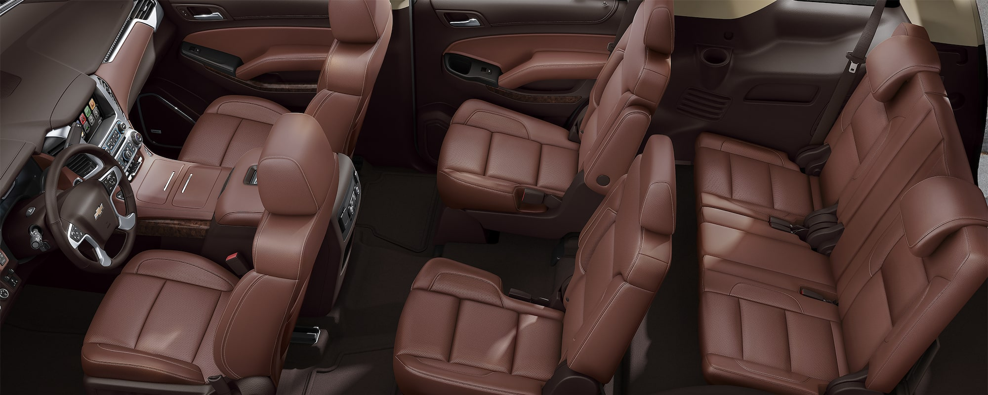 Chevrolet SUV Lineup: Interior Seating