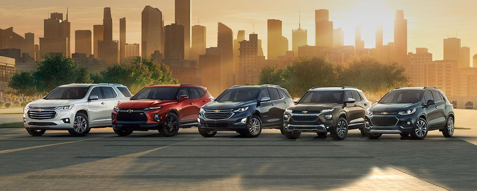 Chevrolet SUVs and Crossovers Lineup: 5-9 Passenger