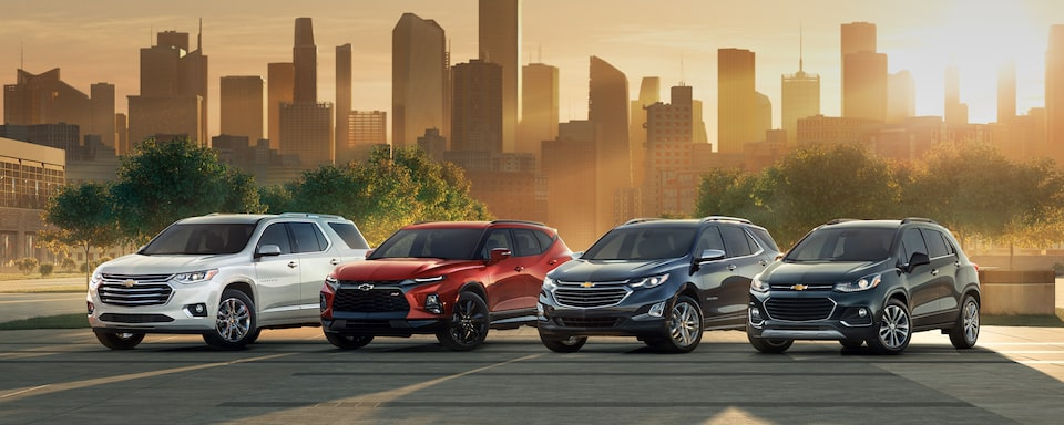 Chevy Small Suv >> Chevrolet SUVs and Crossovers Lineup: 5-9 Passenger