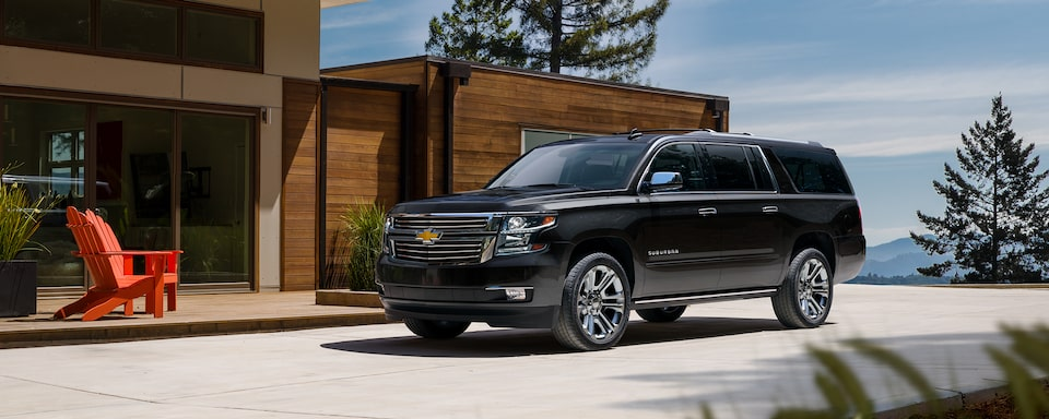 2020 Suburban Large SUV Front Side View