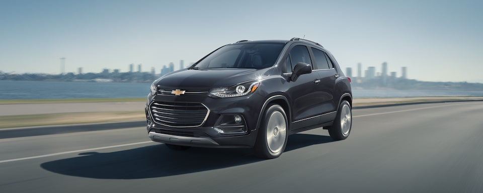 2020 Chevy Trax Compact SUV Front Side View