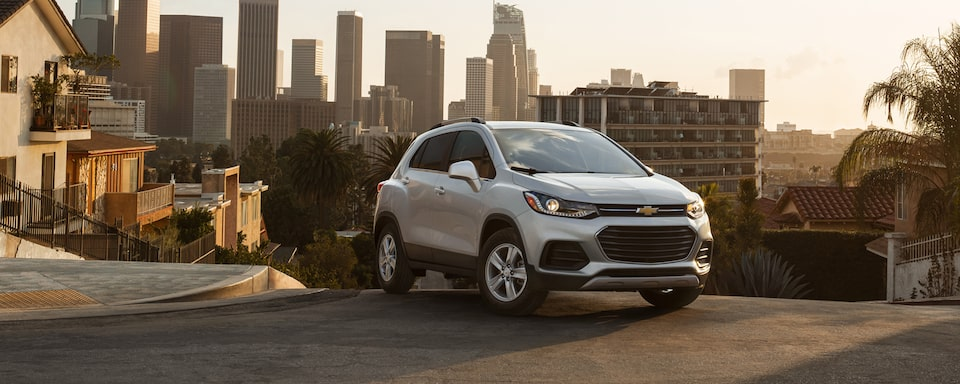 2021 Chevy Trax Compact SUV Front Side View