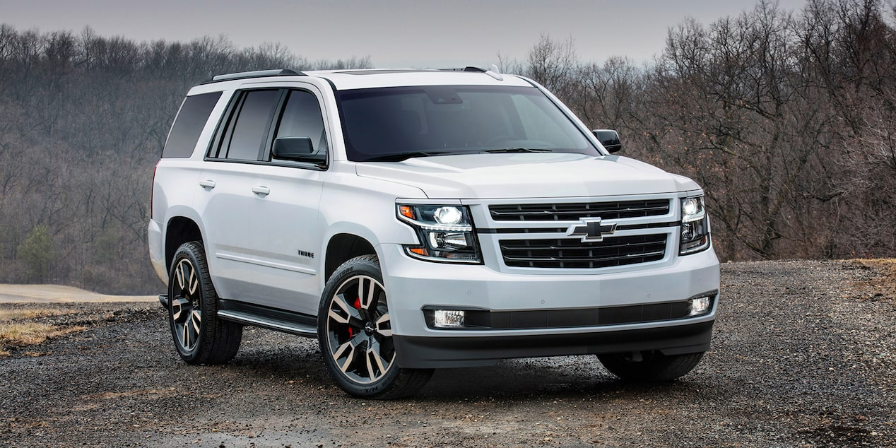 Tahoe Special Editions: RST edition