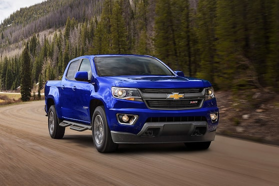 2017 Chevy Colorado Sel
