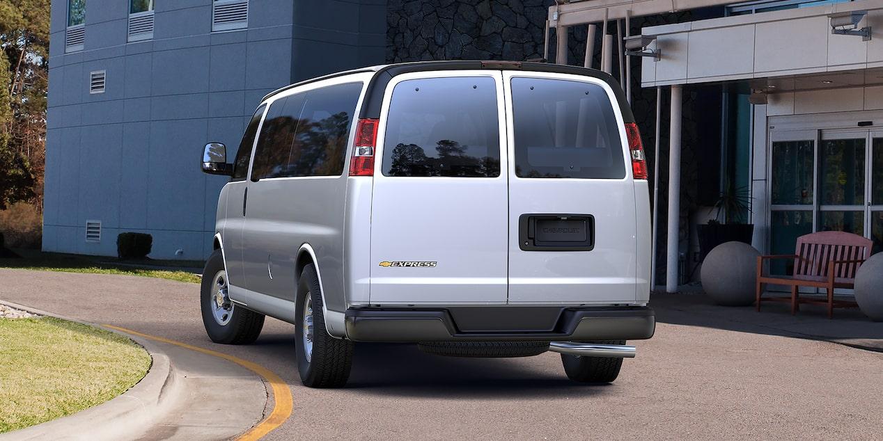 Chevy express vans cargo passenger chevrolet chevrolet vans express vans rear sciox Choice Image