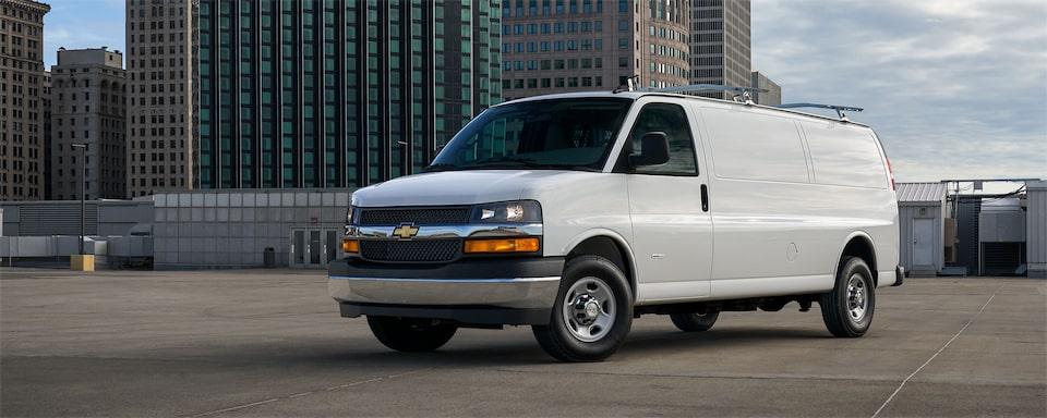 Chevy Express Vans Cargo 12 Passenger And 15 Passenger