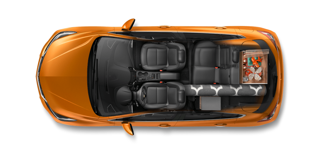 2017 Cruze Hatchback Cargo Design: Collector