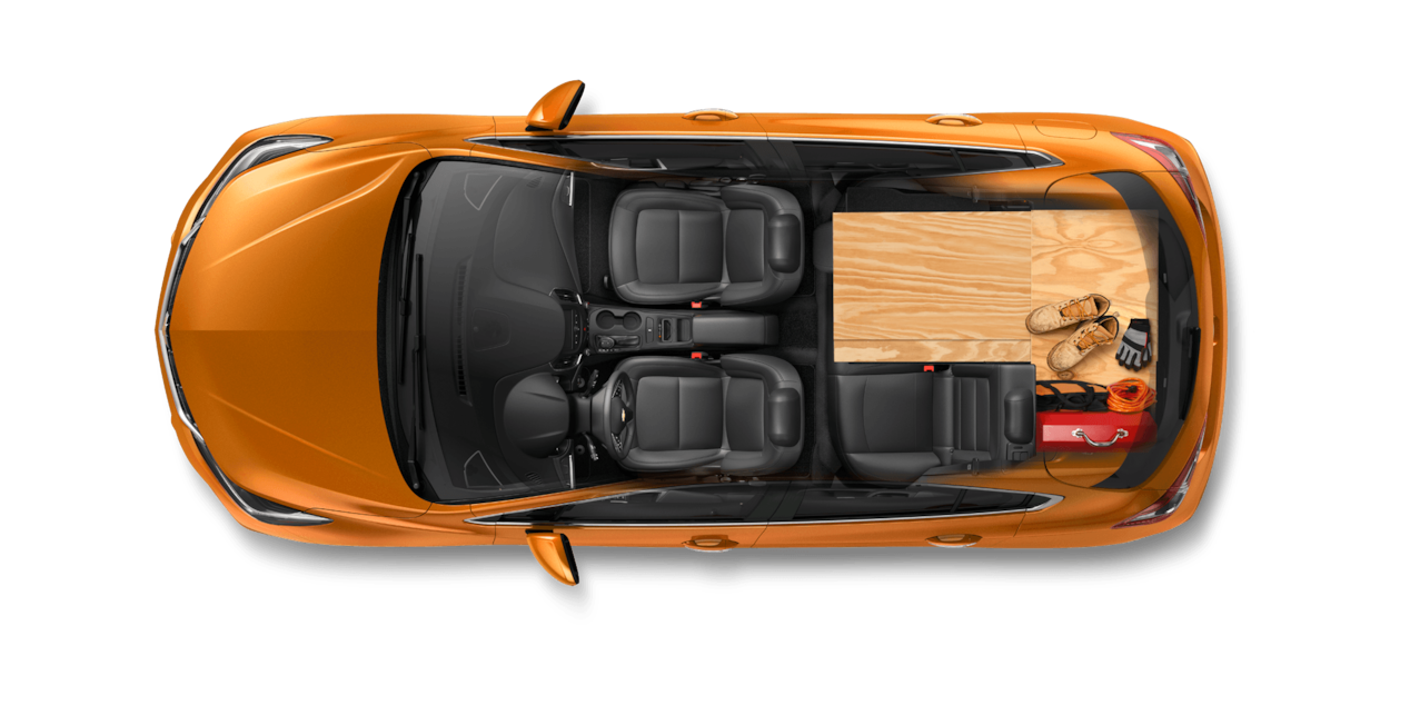 2017 Cruze Hatchback Cargo Design: DIYer