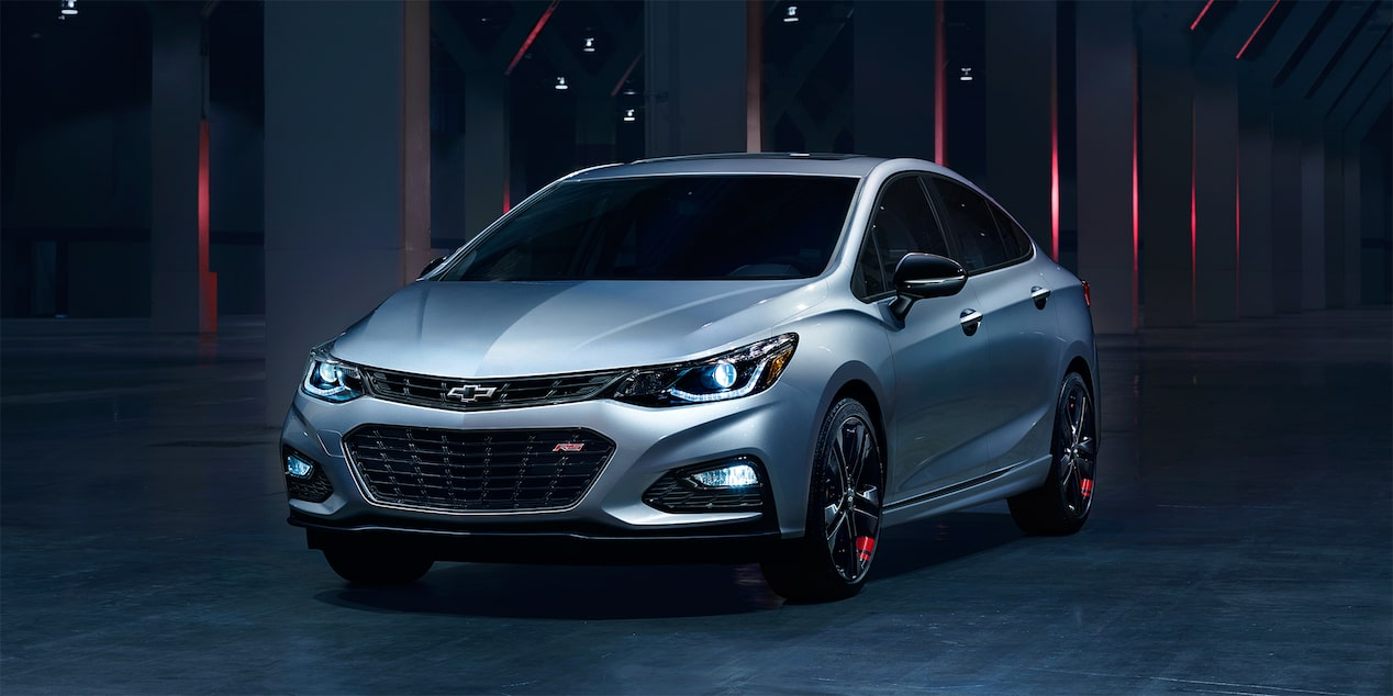 Chevrolet Redline Series Roster: 2017 Cruze Sedan