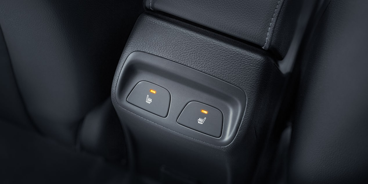 2017 Cruze Compact Car Design: rear console