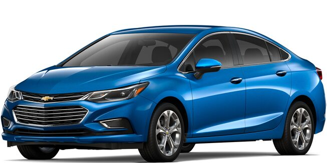 2017 Cruze Compact Cars Front View