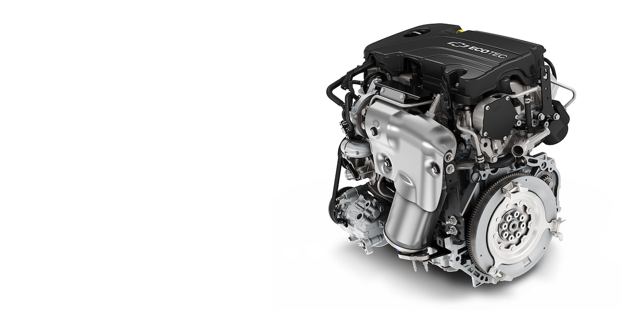 2017 Malibu Mid-Size Car Engine