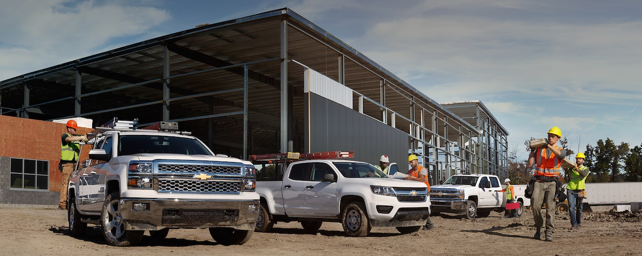 Chevrolet Commercial Vehicle Lineup