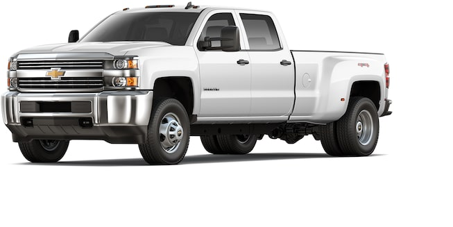 2017 Silverado 2500HD/3500HD with Snow Plow