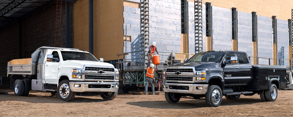 2020 Chevy Commercial Vehicles: Trucks, Chassis Cabs & More