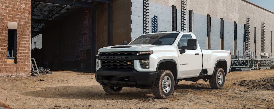 2020 Chevy Silverado 2500 HD & 3500 HD Commercial Heavy Duty Truck