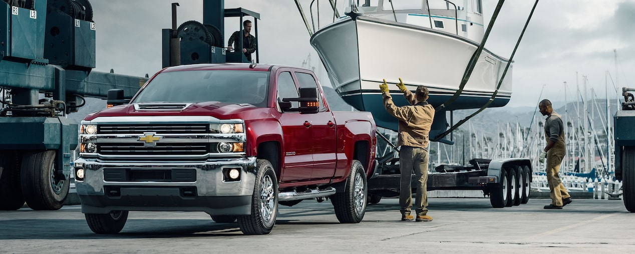 2017 Silverado HD Commercial Truck Performance: advanced towing