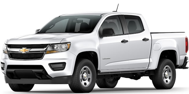 2017 Colorado Commercial Mid Size Truck: Side