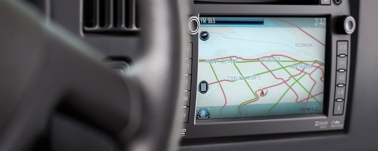 MyLink Navigation available in the 2017 Express Cutaway