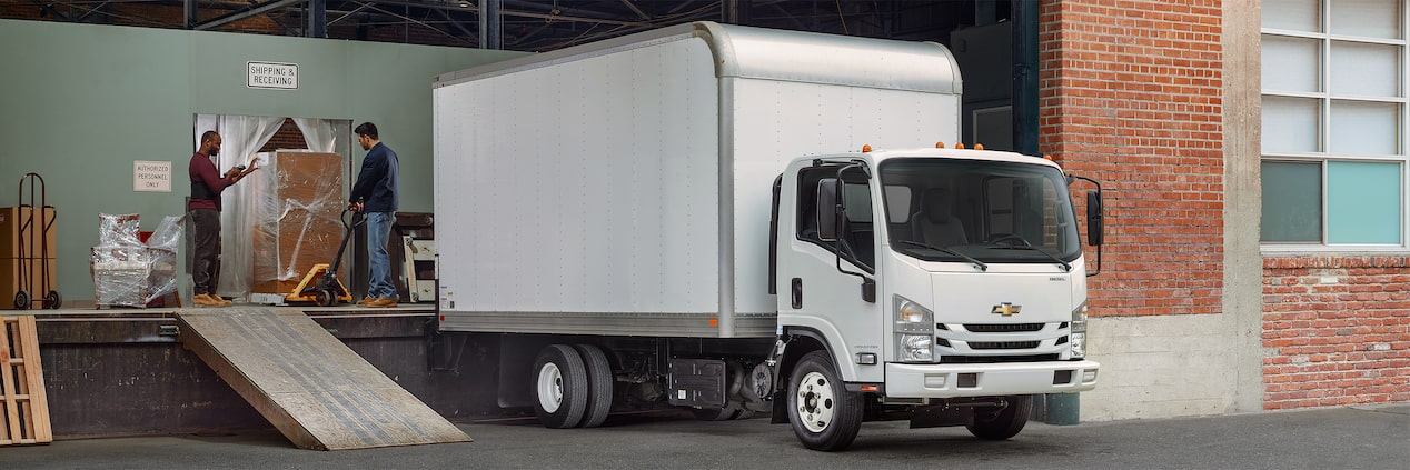 2017 Low Cab Forward Truck Design: 3500HD diesel regular cab