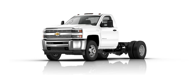 Silverado 3500HD Chassis: Commercial Truck | Chevrolet