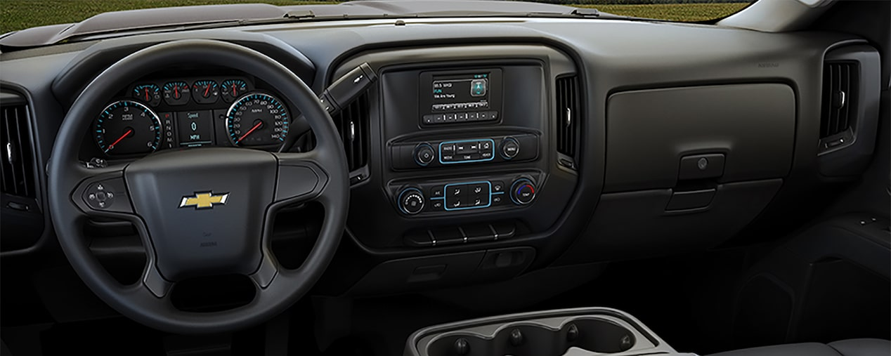 2017 Silverado Chassis Cab Truck Technology: dashboard