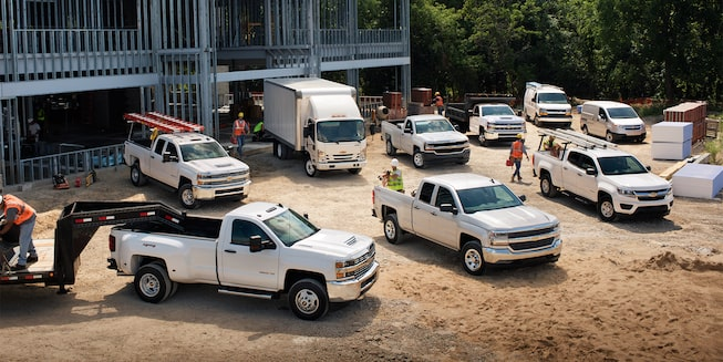 Chevrolet Commercial Vehicles Lineup