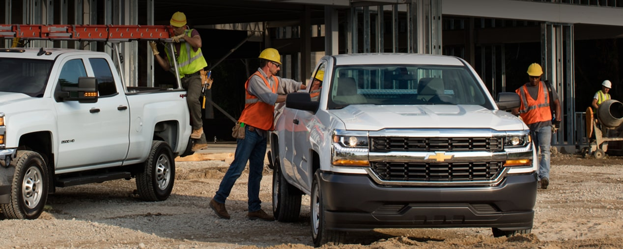 2017 Silverado 1500 Commerical Pickup Truck: work truck