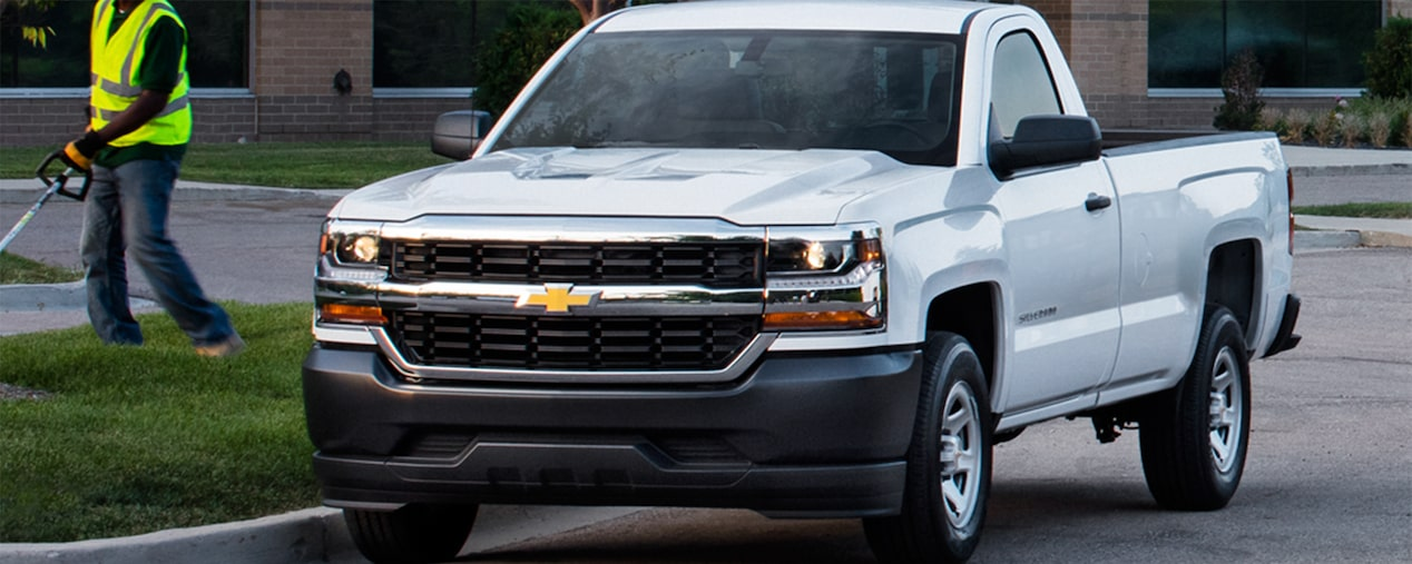 2017 Silverado 1500 Commerical Pickup Truck Performance