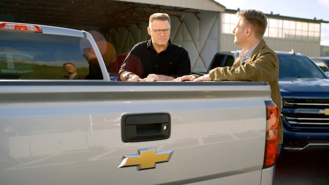 2017 Silverado 1500 Commerical Pickup Truck: Howie Long video