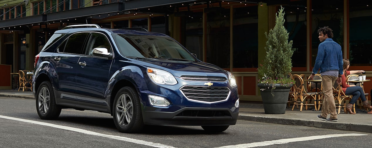 2017 Equinox Fuel Efficient SUV Design: side