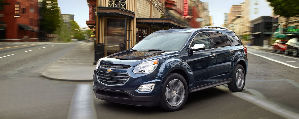 2017 Equinox Fuel-Efficient SUV