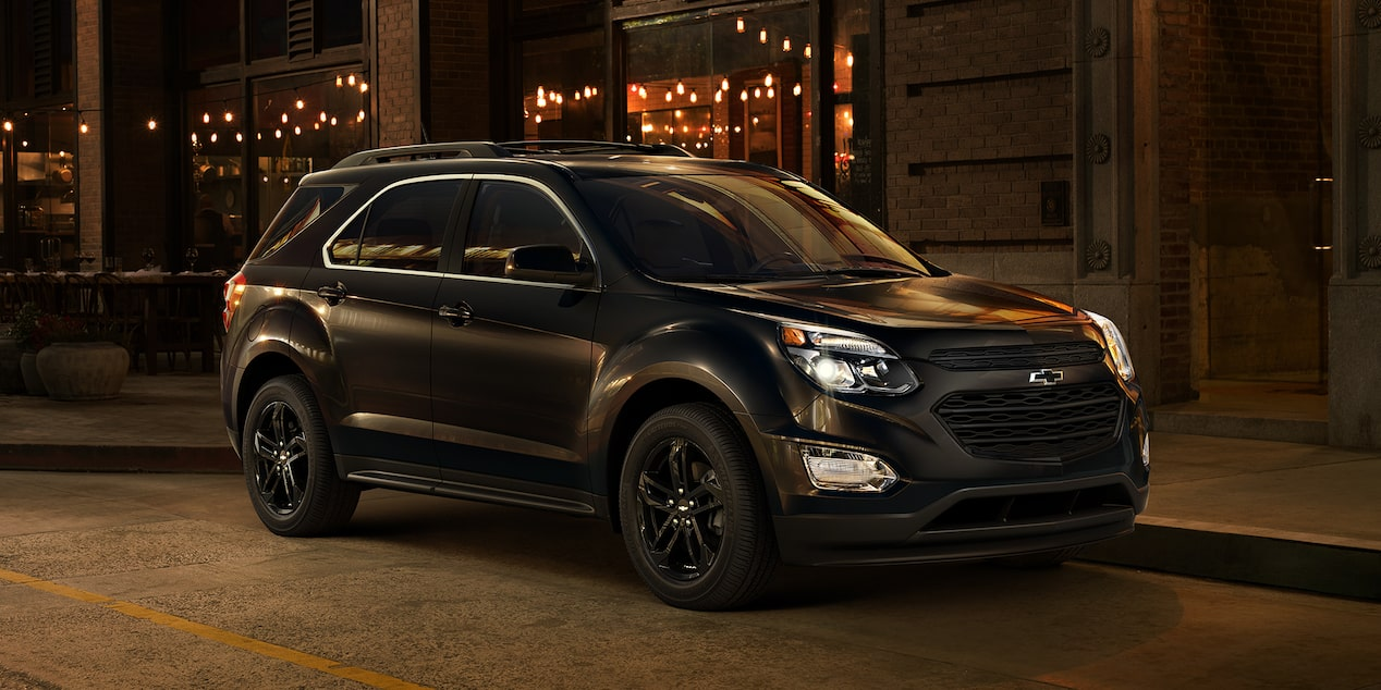 2017 Equinox Special Editions: Midnight front