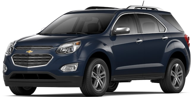 2017 Equinox Fuel-Efficient SUV: Front View