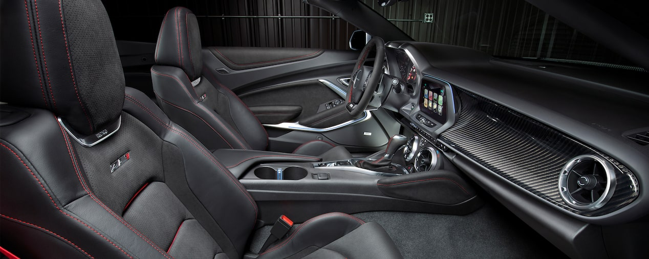 2017 Camaro ZL1 Design: RECARO performance seats