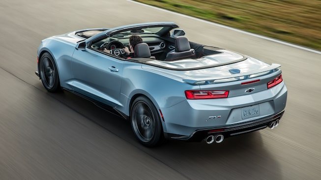 2017 Camaro ZL1 Design: convertible