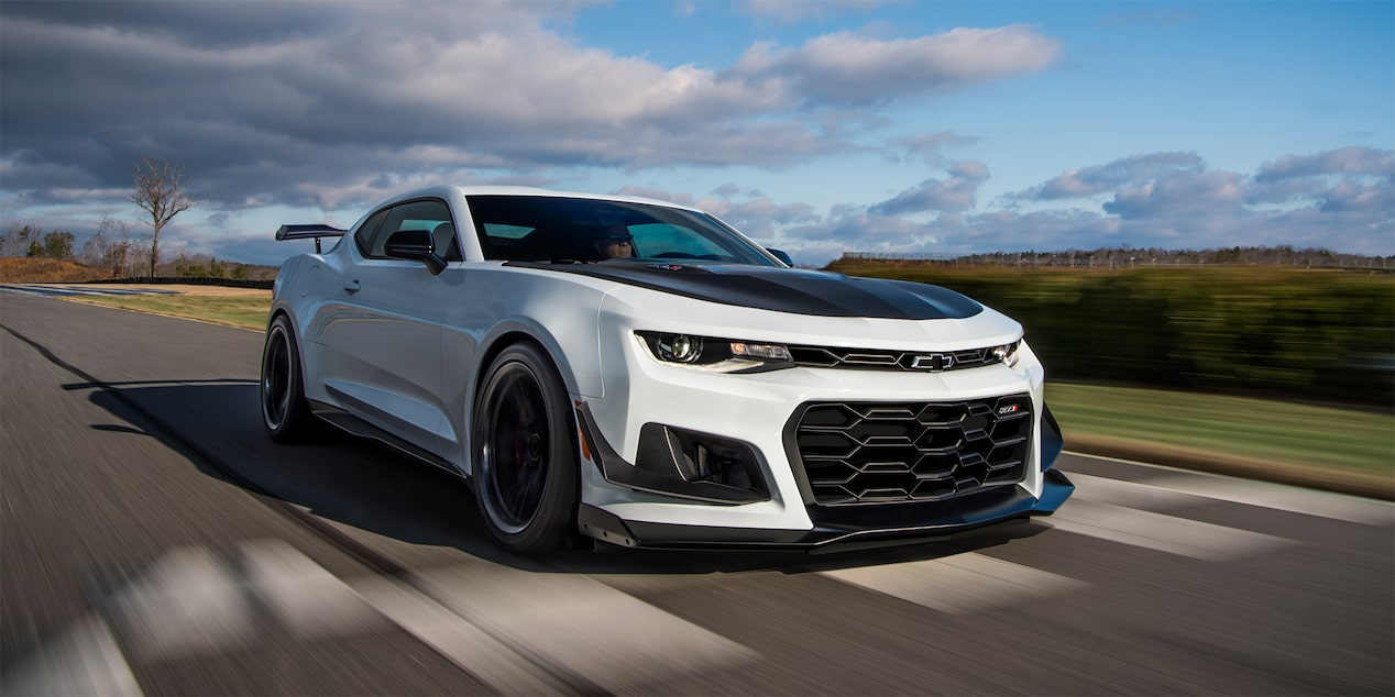 2018 Camaro Sports Car: 1LE Track Package