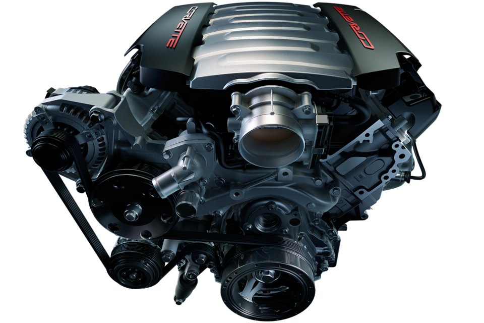 Corvette Engines: 6.2L LT1 V8 Engine