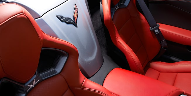 2017 Corvette Stingray Interior Photo: seats