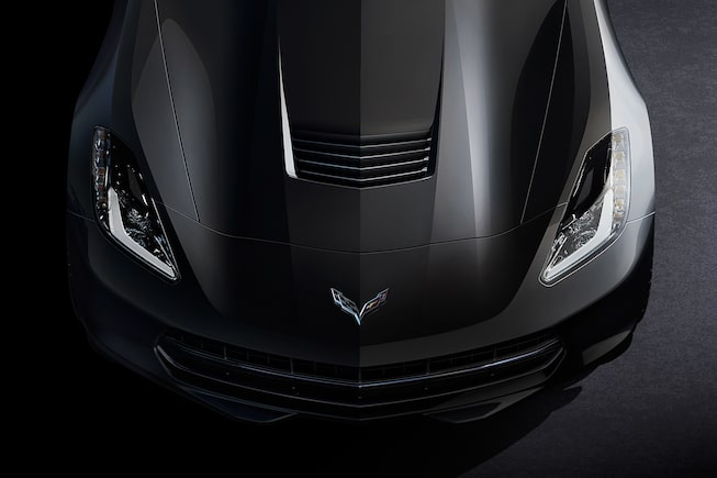 2017 Corvette Stingray Sports Car Design: aerodynamic exterior