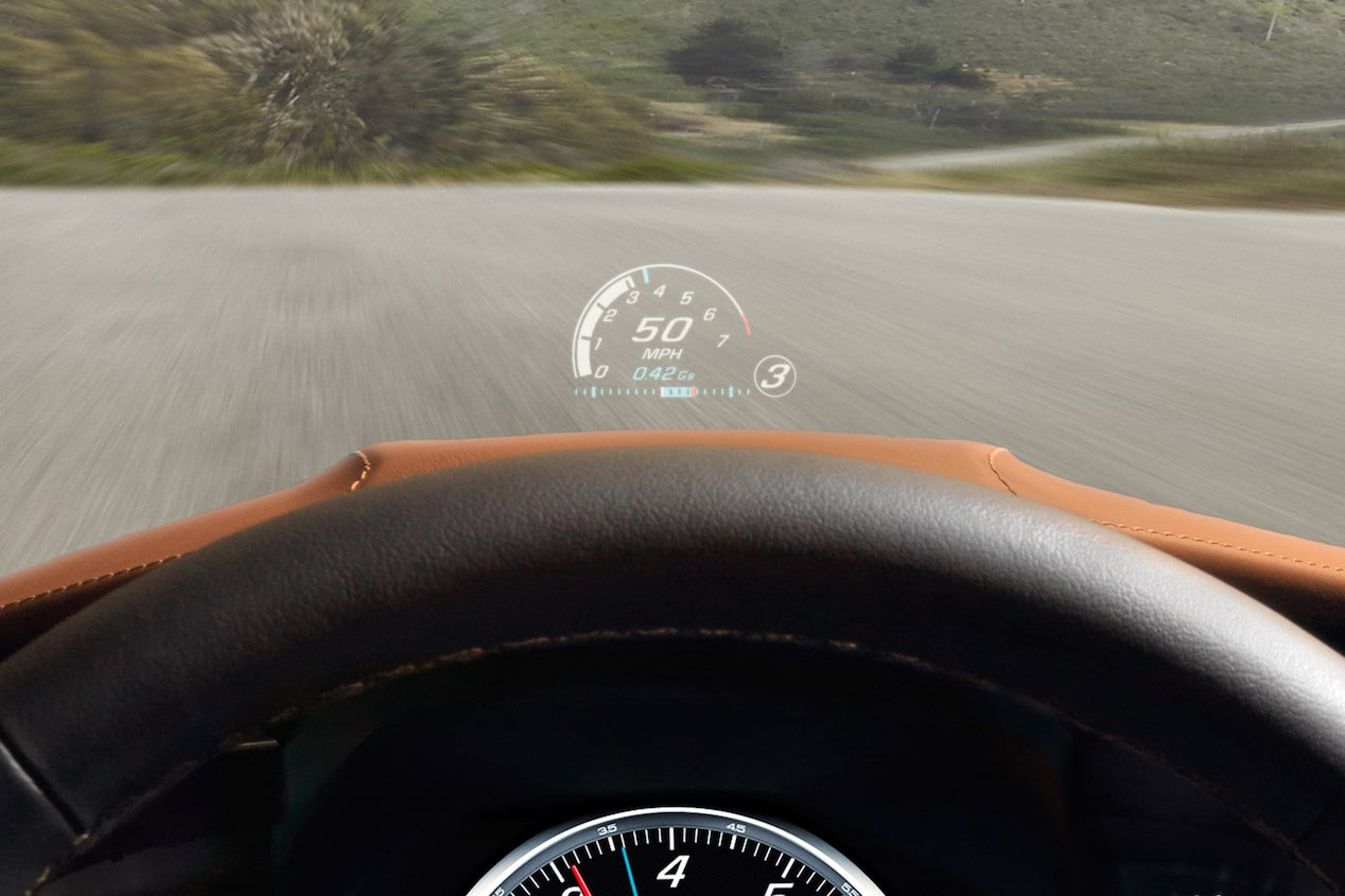 2017 Corvette Stingray Sports Car: Head-Up Display