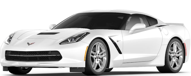 2017 Corvette Stingray Sports Car: Front