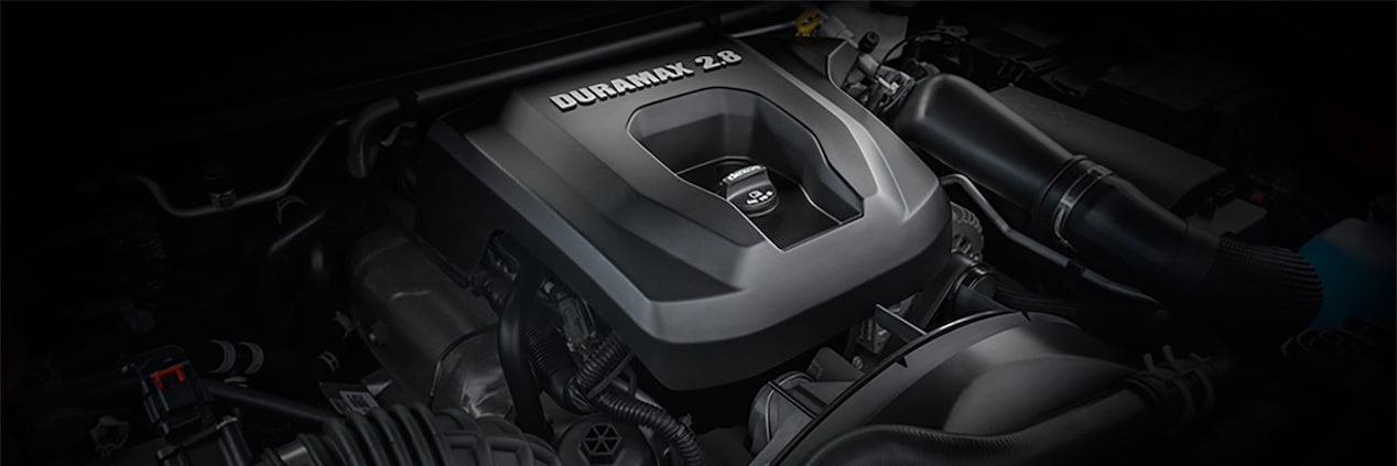 2017 Colorado ZR2 Performance: Duramax 2.8L engine