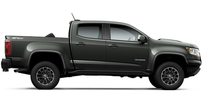 2017 Colorado ZR2: side profile
