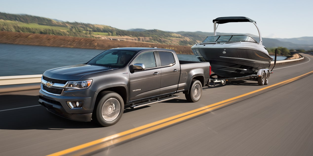 2017 Colorado Mid Size Truck Performance: towing
