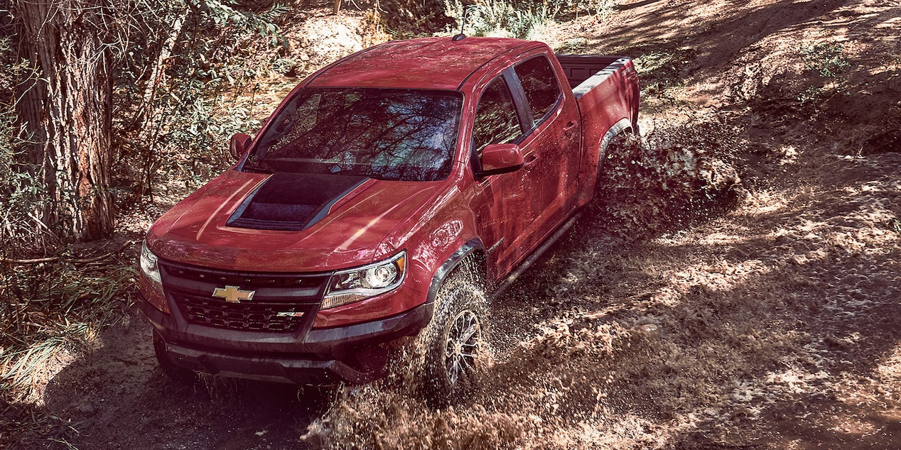 2017 Colorado Mid Size Truck: front