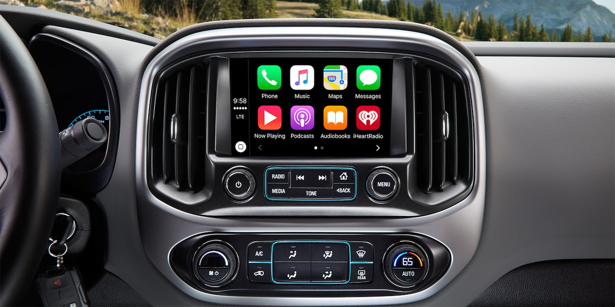 "2017 Colorado Truck Technology: 8"" diagonal color touch-screen display"