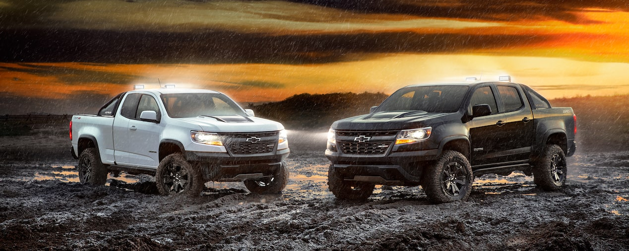 2017 SEMA Show: Colorado ZR2 Dusk and Midnight Edition