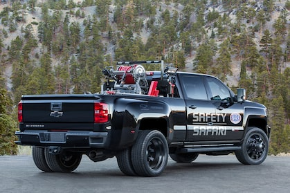 2017 SEMA Show: Silverado 3500HD NHRA Safety Safari